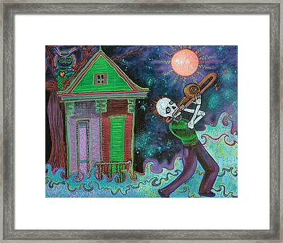 Bayou Blues Framed Print