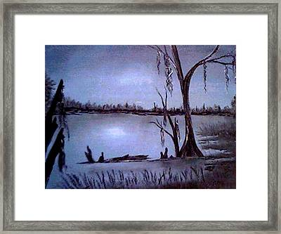 Bayou Dreams Framed Print