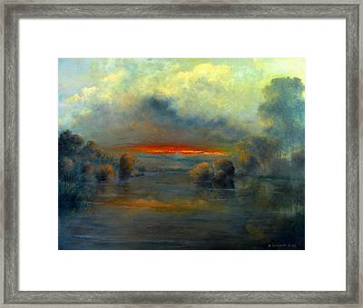Bayou Evening 22x28 Framed Print