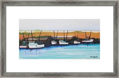 Bayou Framed Print