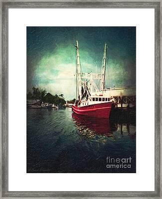 Bayou Labatre Framed Print