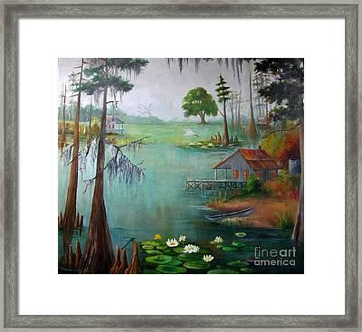 Bayou Living  Framed Print