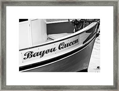 Bayou Queen Framed Print by Scott Pellegrin