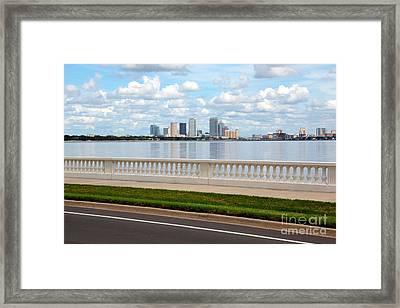 Bayshore Boulevard Framed Print by Carol Groenen