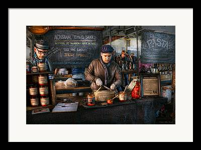 Amsterdam Market Framed Prints