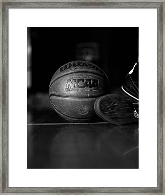 Bball Framed Print by Molly Picklesimer