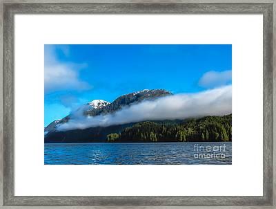 Bc Coastline Framed Print by Robert Bales