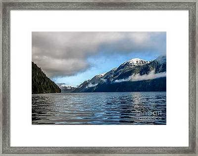 Bc Inside Passage Framed Print by Robert Bales