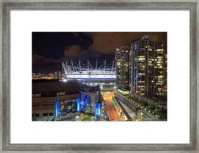Bc Place  Framed Print by Kathy King