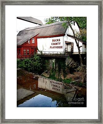 Bc Playhouse Framed Print by Colleen Kammerer