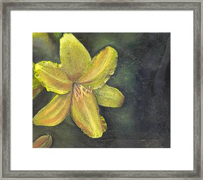 'be A Lily Among Thorns' Framed Print