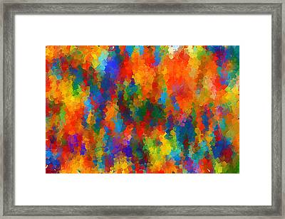 Be Bold Framed Print by Lourry Legarde
