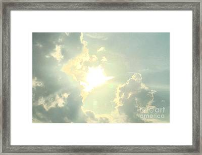 Be Bright Framed Print by Michelle Bentham