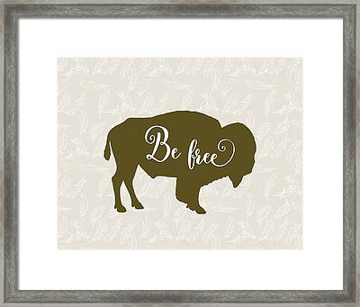 Be Free Framed Print by Tara Moss