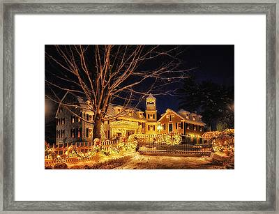 Merry Christmas  Framed Print by Tricia Marchlik