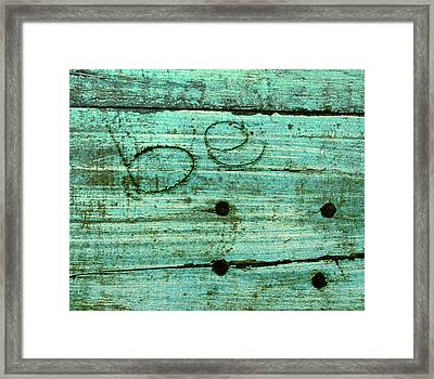 Be Framed Print by Jocelyn Friis
