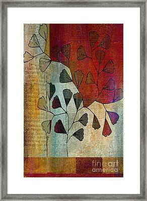 Be-leaf - 134124167-bl22t1 Framed Print by Variance Collections