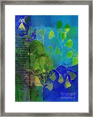 Be-leaf - J76073176b1b Framed Print by Variance Collections
