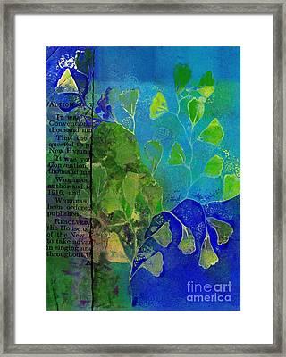 Be-leaf - J76073176b1b Framed Print