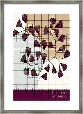 Be-leaf - Prune 01-ab103b Framed Print