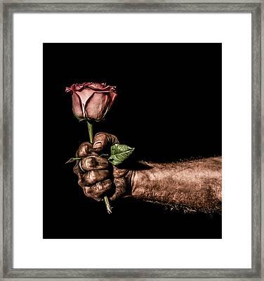 Be Mine Framed Print by Aaron Aldrich