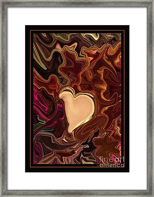 Be Mine By Steven Langston Framed Print by Steven Lebron Langston