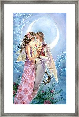 Be Mine Framed Print by Sara Burrier
