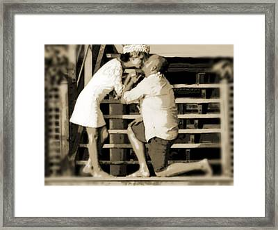 Framed Print featuring the photograph Be Mine by Zinvolle Art