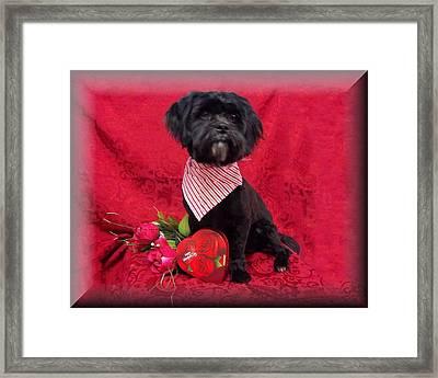 Be My Valentine Framed Print by Rosalie Klidies
