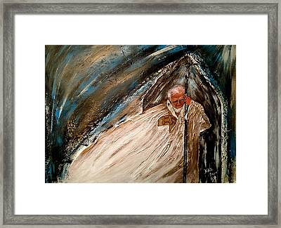 Be Not Afraid Framed Print by Laura LaHaye