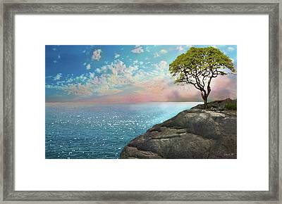 Be One With Me Framed Print