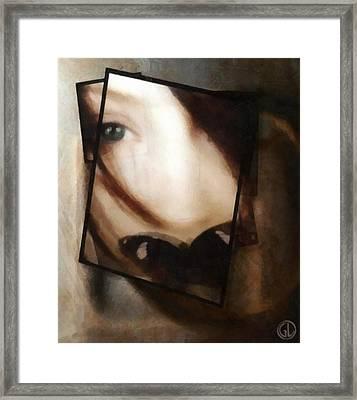 Be Silent Framed Print by Gun Legler