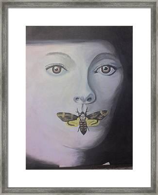 Be Silent Framed Print by Stephen Thomson