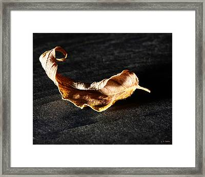 Be Still With Yourself Framed Print