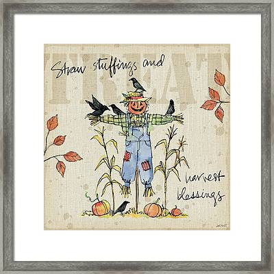 Be Thankful I Framed Print by Anne Tavoletti