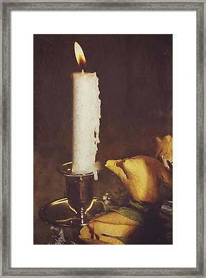 Be The Light Framed Print by Kathy Jennings