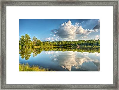 Be The Stream Of The Universe Framed Print by William Fields