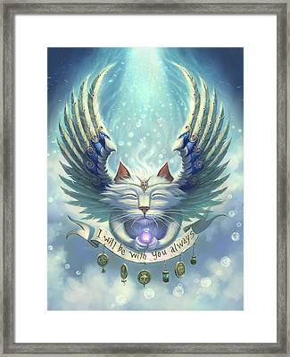 Be With You Framed Print by Jeff Haynie