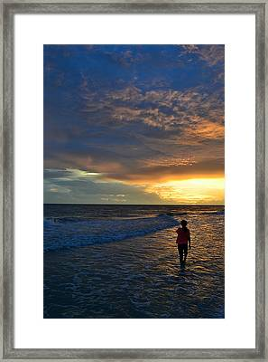Framed Print featuring the photograph Be Wonderful... Because You Are by Melanie Moraga