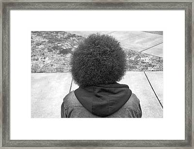 Be Yourself Framed Print by Steven  Michael