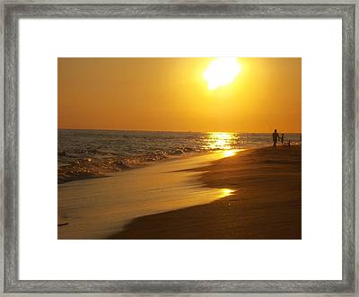 Beach #18 Framed Print
