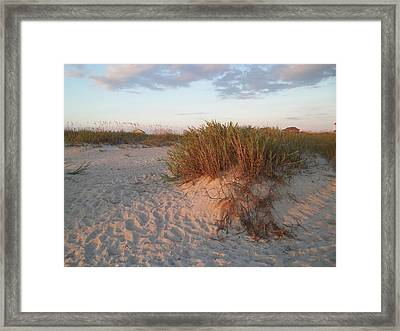 Beach #4 Framed Print