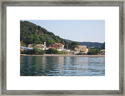 Beach 5 Framed Print by George Katechis