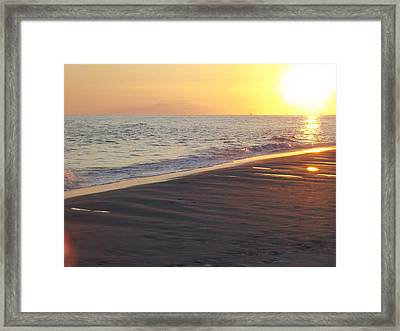 Beach #5 Framed Print