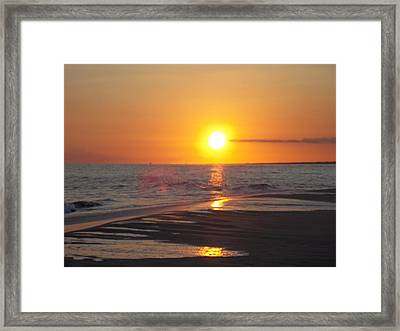 Beach #7 Framed Print