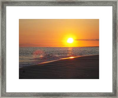 Beach #8 Framed Print