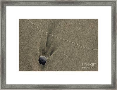 Beach Abstract 07 Framed Print