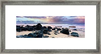 Approaching Storm Framed Print by Rod McLean