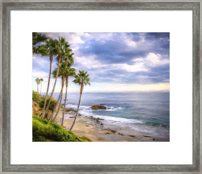 Beach Art Framed Print by Vicki Jauron