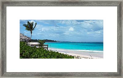 Beach At Tippy's Framed Print